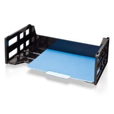Recycled Hi-Capacity Legal Tray, Black