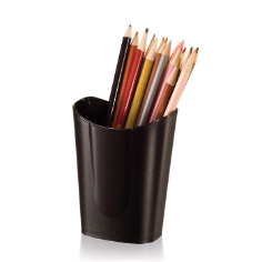 Achieva Small Pencil Cup, Recycled, Black