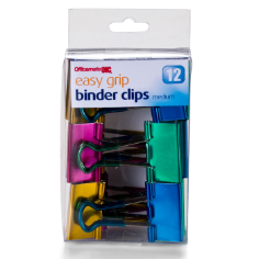 Medium Easy grip / Binder Clips