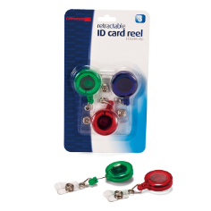 ID Card reels with clip
