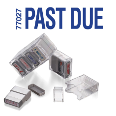 Pre-Inked Stamp- PAST DUE