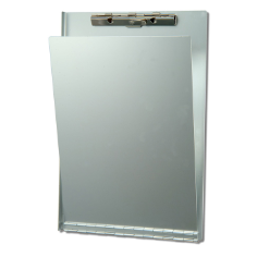 Aluminum Clipboard with Privacy Cover