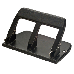 Heavy-Duty 3-Hole Punch with Padded Handle