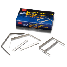 Premium Prong Fasteners, Complete Set, 2""