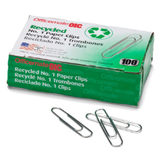 Recycled #1 Clips and Fasteners / Paper Clips