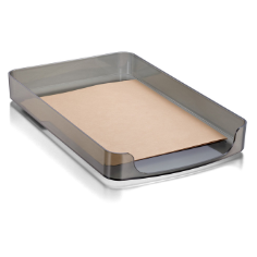 2200 Series Front Load Legal Tray, Smoke