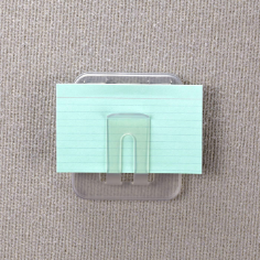 Verticalmate Memo Holder, Frosty Clear