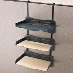 Verticalmate Letter Tray 3/PK with Hanger Set