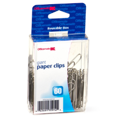 Giant Clips and Fasteners / Paper Clips, Reusable Box