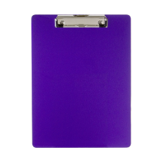 Recycled Plastic Clipboard, Purple