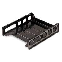 Front Load Letter Tray, Black