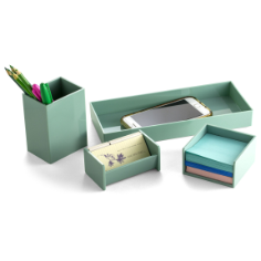 4PC Desk Organizer Set