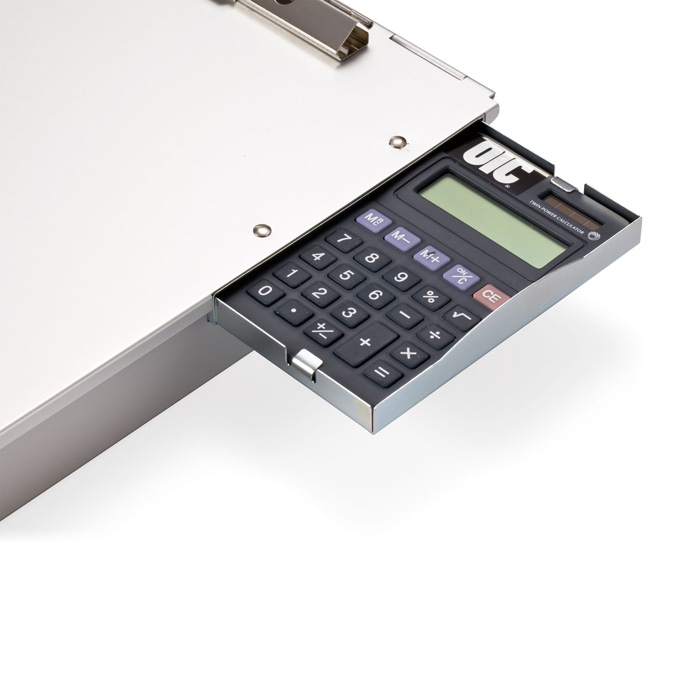 Aluminum Forms Holder Storage W Calculator