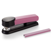 Breast Cancer Awareness Plastic Full Strip Stapler with 210 Staples, Pink