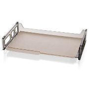 Legal Side Load Desk Tray, Smoke