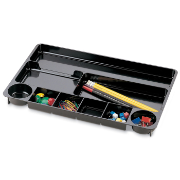 Drawer Tray, 9 Compartments, Black