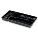 Economy Drawer Tray, 9 Compartments, Black