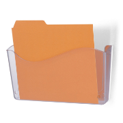 Unbreakable Wall File, Invoice Size, Clear