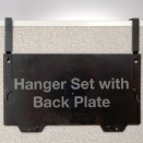 Grande Central Filing System Hanger Set, Black