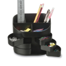 2200 Series Double Supply Organizer with 11 Compartments, Black