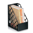 Recycled Large Magazine File, Black