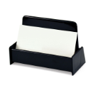 Antimicrobial Business Card Holder, Black