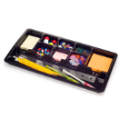 Achieva Drawer Tray, Recycled, Black