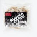 "Rubber Bands, Assorted Sizes, 1 3/8"" OZ/BG, Natural"
