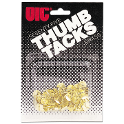 Thumb Clips and Fasteners / Tacks, Brass Plated