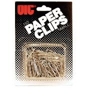Small Clips and Fasteners / Paper Clips, Blister Card