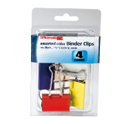 Medium / Binder Clips, Assorted Colors