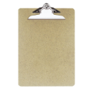 Letter Size Wood Clipboard