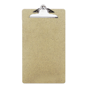 Wood Clipboard, Legal Size