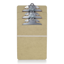 Wood Clipboard, Letter Size, 3/PK
