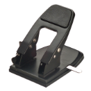 Antimicrobial Heavy Duty 2-Hole Punch with Padded Handle