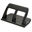 Antimicrobial Heavy-Duty 3-Hole Punch/Padded Handle