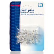 Clips and Fasteners / Push Pins, Clear