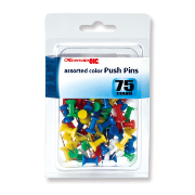 Clips and Fasteners / Push Pins, Assorted Colors