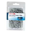 No. 2 Vinyl Coated Clips and Fasteners / Paper Clips