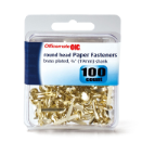 Brass Plated Fasteners Retail Pack in Clamshell