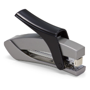 Effortless Hand Held Full Strip Stapler, Silver/Black