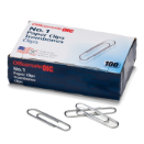 #1 Standard Clips and Fasteners / Paper Clips, Smooth
