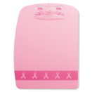 Breast Cancer Awareness Plastic Designer Clipboard, Pink