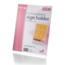 BCA Slanted Vertical Sign Holder