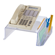 Telephone Stand, Clear