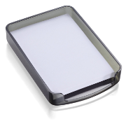 2200 Series Memo Holder with Paper, Smoke