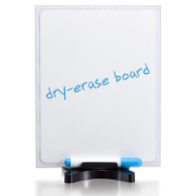 Premium Dry-Erase Sign Holder, Two Sided