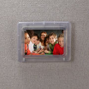 Verticalmate Photo Frame, Frosty Clear