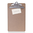Wood Clipboard, Note Size