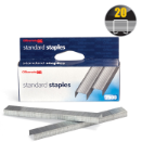 Standard Chisel Point Staples, peggable, 2500